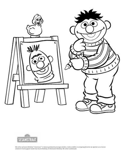 kunst met ernie thema kunst kunst and met