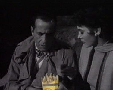 Read more: https://www.luerzersarchive.com/en/magazine/commercial-detail/pan-23519.html Pan Pan # An original scene from a Humphery Bogart movie. The only difference is that instead of smoking the staple cigarettes the two protagonists wrap their mouths around Pan french fries. Which, it is claimed, taste much better. Tags: David Caballero,JWT (J. Walter Thompson) Delvico, Madrid,Joao Daniel Films, Madrid,Pan,Pablo Monzon