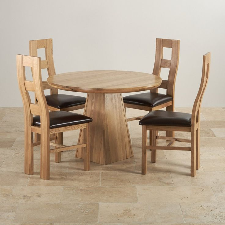 100 round oak dining table set cool modern furniture check more at http - Oak Round Dining Table