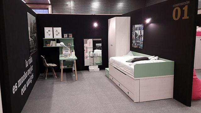 Exposición Muebles Ros feria del hábitat de Vizcaya. Bicama Ros.