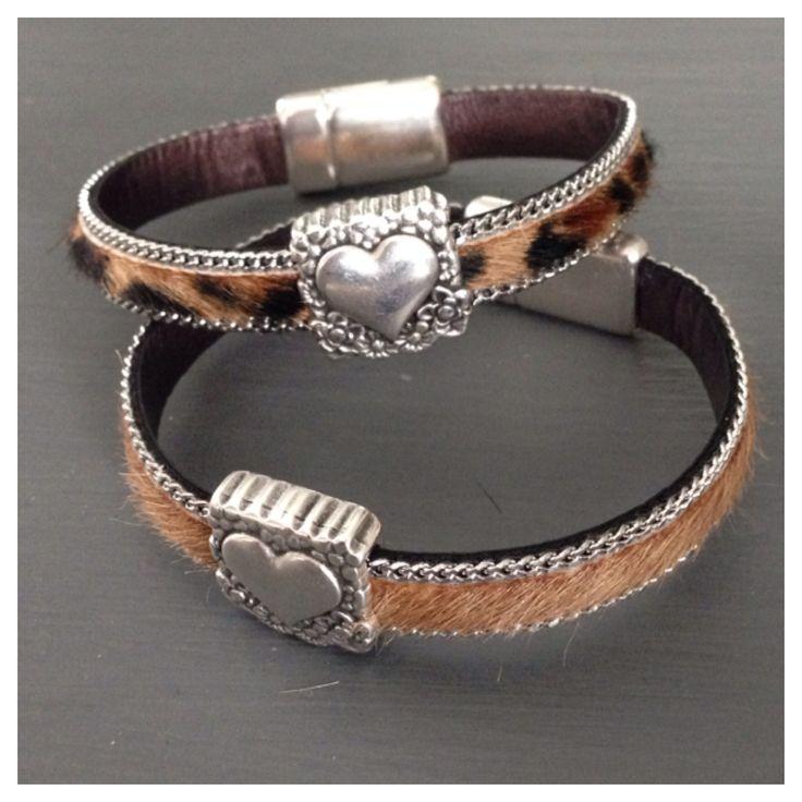 #armbanden van vachthuiden #label160
