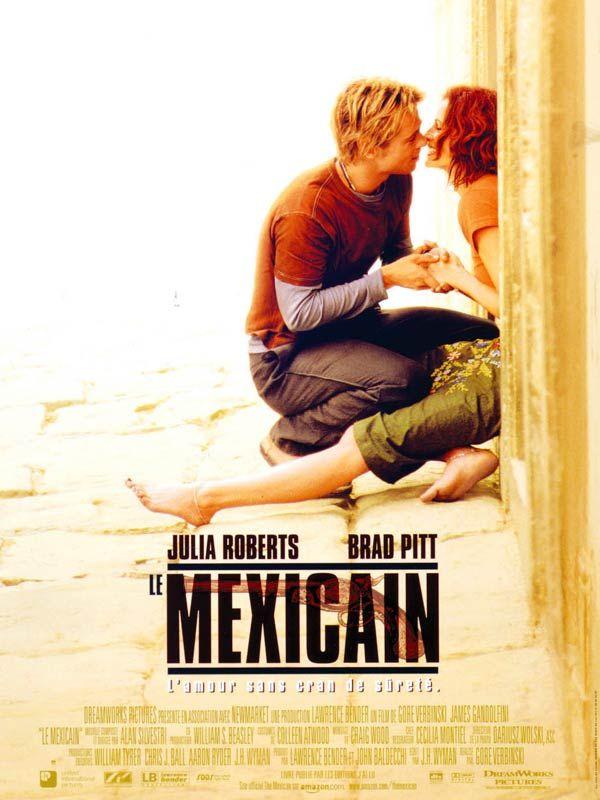 Le Mexicain (The Mexican) est un film américain réalisé par Gore Verbinski, sorti en 2001. Du fond de sa cellule, Arnold Margolese rêve de se procurer le Mexicain, pistolet de légende. Il demande au petit malfrat Jerry Welbach de retrouver ce pistolet. Samantha Barzel, petite amie de ce dernier, le quitte.  Découvrir le pistolet semble facile, mais la suite se gâte, car le pistolet est envoûté. Une malédiction s'est abattue sur chacun des possesseurs du pistolet.  Au même moment, Samantha Ba