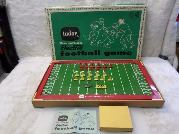 electric football game teams