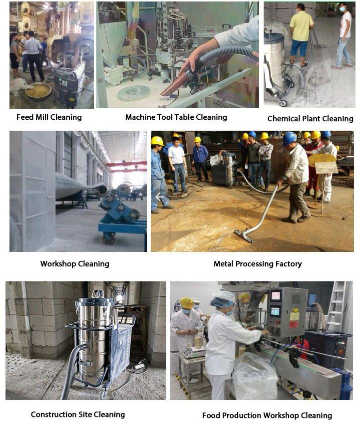 Applications of PK Series Industrial Vacuum Cleaner
