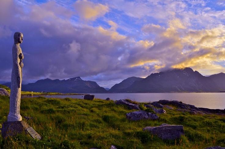 The fisherman's wife, Lofoten. Hildegun JohnsenVisit Northern Norway (Nord-Norge) #HattvikaLodge