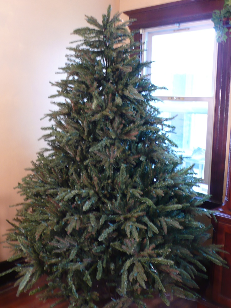one of the most realistic christmas trees i have ever owned its called the flat - Most Realistic Christmas Trees