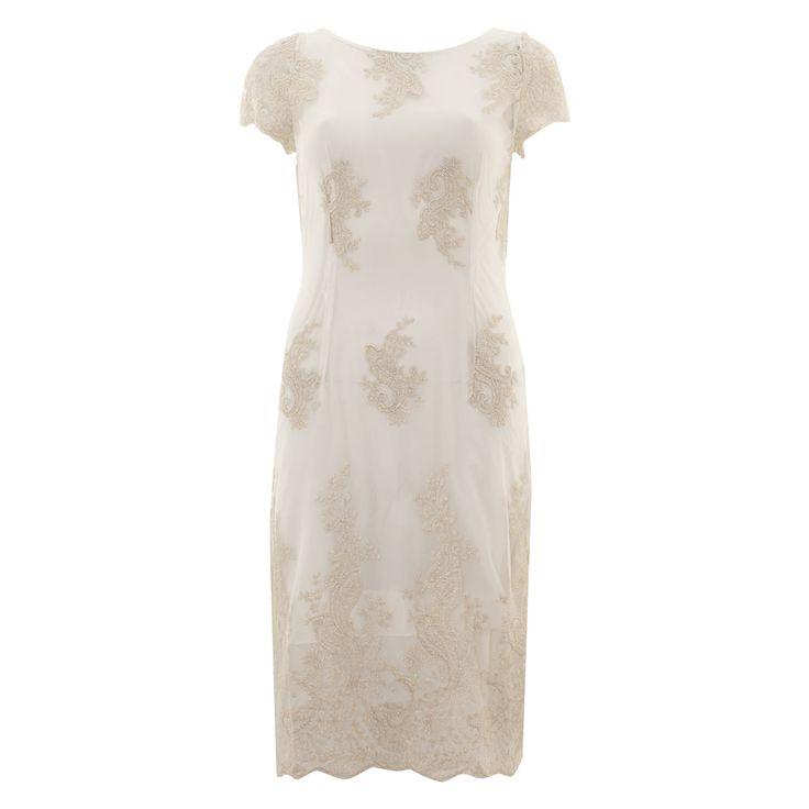 Soma white lace mini dress tk maxx casamento lucy e for Tk maxx dresses for weddings
