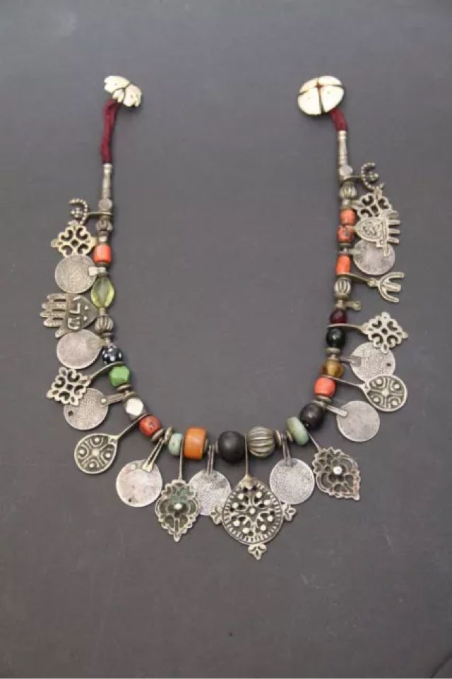 Berber Necklace ~ Morocco