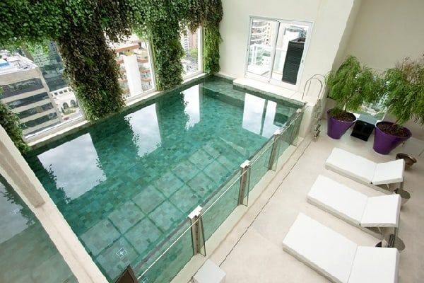 50 Ridiculously Amazing Modern Indoor Pools Indoor Swimming
