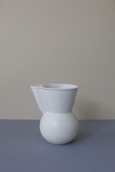 GIDON BING, PITCHER: from super-rad store everyday needs. #gidon_bing #vessel #porcelain