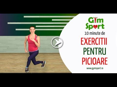 Exercitii pentru picioare - YouTube