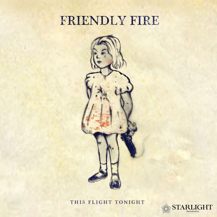 This Flight Tonight's debut EP - Friendly Fire