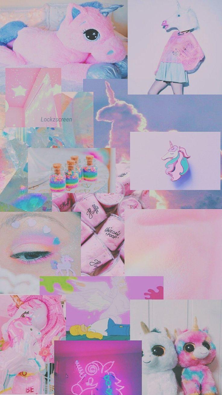 44 koleksi gambar kolase unicorn hd terbaik  wallpaper