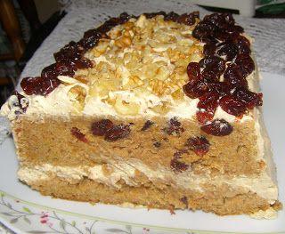 W Mojej Kuchni Lubię.. : pyszne ciasto marchewkowo-pomarańczowe z żurawiną ...