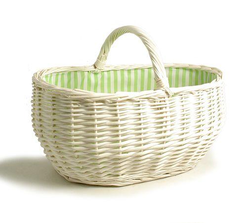 white wicker baskets 19 inch large white wicker basket