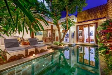 PPG - Property of the Week!  Designed in contemporary style architecture with tropical island adornments, this villa is located in Jalan Drupadi in Seminyak. This leasehold villa is available for 13 years lease with option to extend for 2,925,000,000 IDR.    For more info & photos, please visit http://bit.ly/TropicalVillaSeminyak or email johanna@ppbali.com or +62 812 3745 3686  #balivillaforsale #balileaseholdvilla #baliproperty #villadijualdibali #seminyakvilla #johannappg
