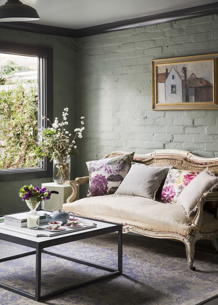 A little French influence - Home Beautiful