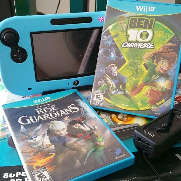 Nintendo Wii U Game Bundle 2 Wii U games for the price of 1. My daughter played each game once but she doesn't like them. I'm selling to buy her a new one. They costed $40+ each.   Rise of The Guardians Ben 10 Omniverse   Compatible with Nintendo Wii U only! Nintendo  Other