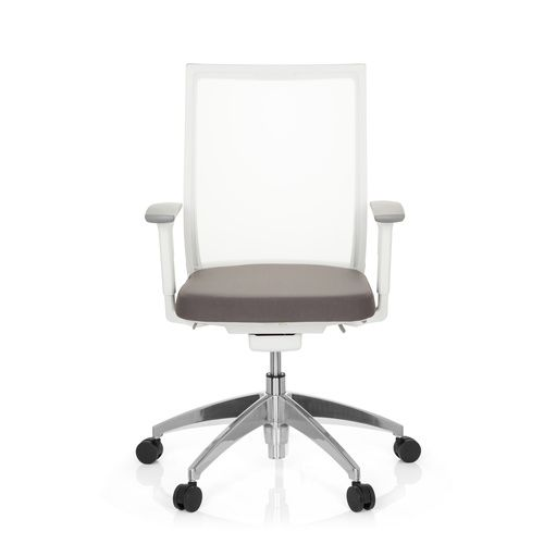 3d Afbeelding Professionele Aspen White Bureaustoel Wit vnwNymO80P