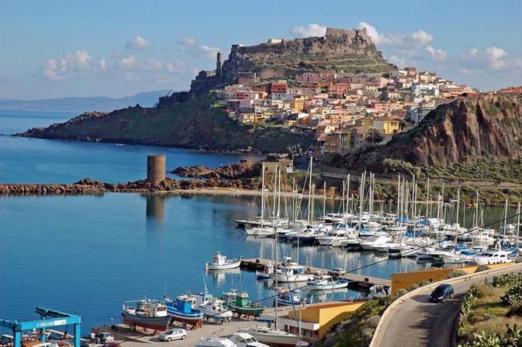 Castelsardo in Sardegna, Italy