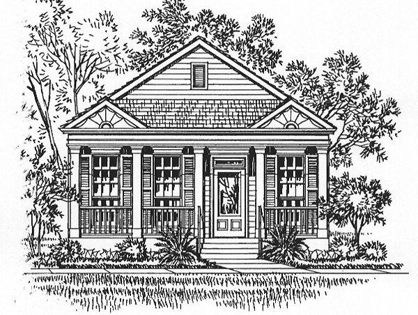 House Plan ID: chp-15856 - COOLhouseplans.com 1256 sq ft cottage