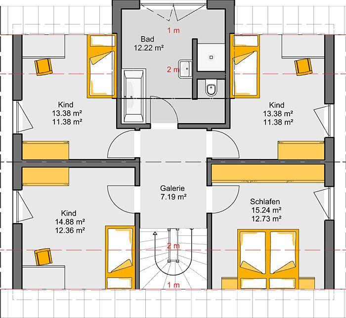 Architekten-Haus Fortuna | Einfamilienhaus mit Galerie – dirk