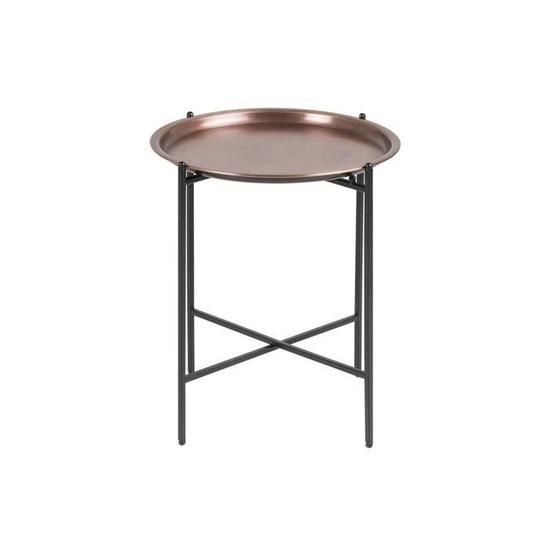 Miliboo Table D Appoint Design Ronde Metal Cuivre Luz En 2020 Table D Appoint Design Bout De Canape Table D Appoint