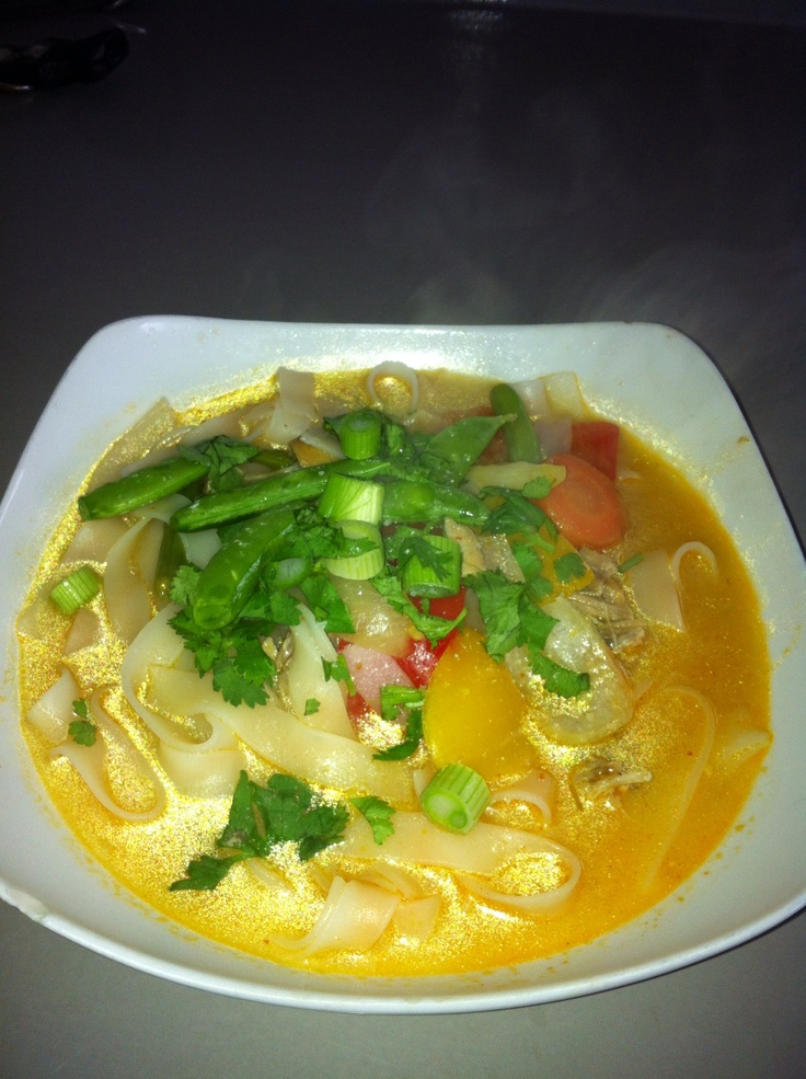 Red Curry Thai Noodle Soup