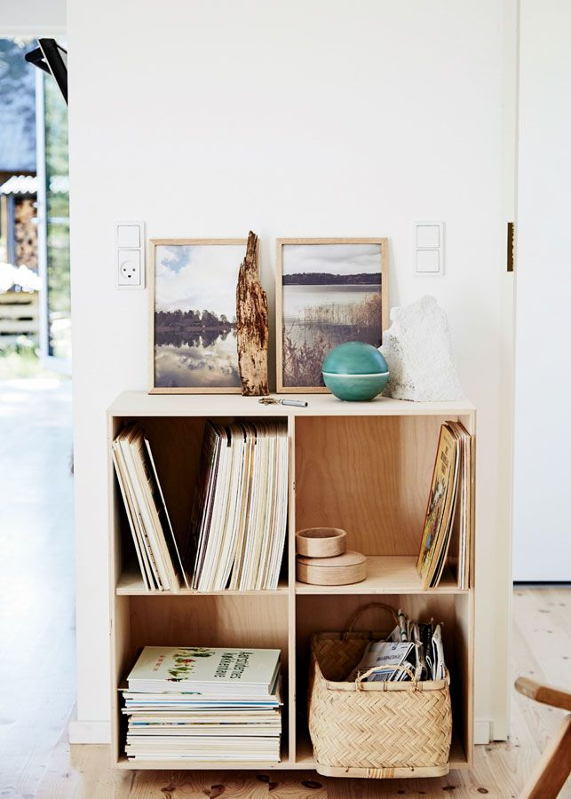 Plywood storage.