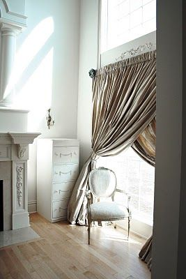 Large Criss Cross Curtains For The Patio Door To Keep Out Major Sunlight But