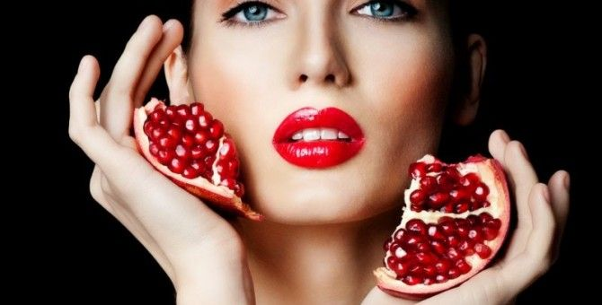 aesthetic benefits of pomegranate