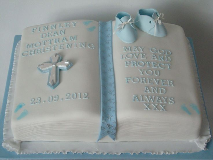 Bible+Christening+Cakes+for+Boys | Boy Christening Cake Bible