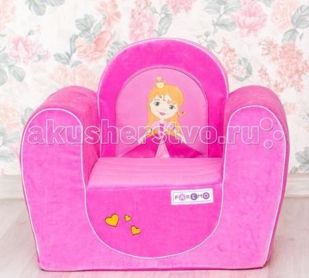 Paremo Детское кресло Принцесса  — 3000р. ----------------------  Paremo Детское кресло Принцесса обязательно понравится ребенку, и прекрасно дополнит любой детский интерьер. Кресло бескаркасное, мягкое и эргономичное, что делает его максимально удобным для малыша.   Особенности: Создано для девочек в возрасте 1-4 лет Кресло имеет бескаркасную и абсолютно безопасную для малыша конструкцию Сидение мягкое и эргономичное, принимает нужную форму под весом ребенка Размеры креслица: 54 х 45 х 38…