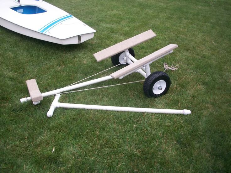 "Okay so here we go with the AJC6882 PVC DOLLY please use the pictures as a guide.  Parts List: a) 2pcs 10ft 1.25"" PVC Pipe (cut into a 4o"" piece for dolly, 44"" peice for extension pole, two 16"" peices for the cross members near the wheels, 4 pcs at 11"" to support bunkers on rear, and left over will be used to connect fittings together. Most of the fittings will be butted together so tight that the pipe won't show. b) 1pc 1.25"" 4-way tee c) 9pcs 1.25"" T's d) 10 1.25"" end caps (used to cap…"