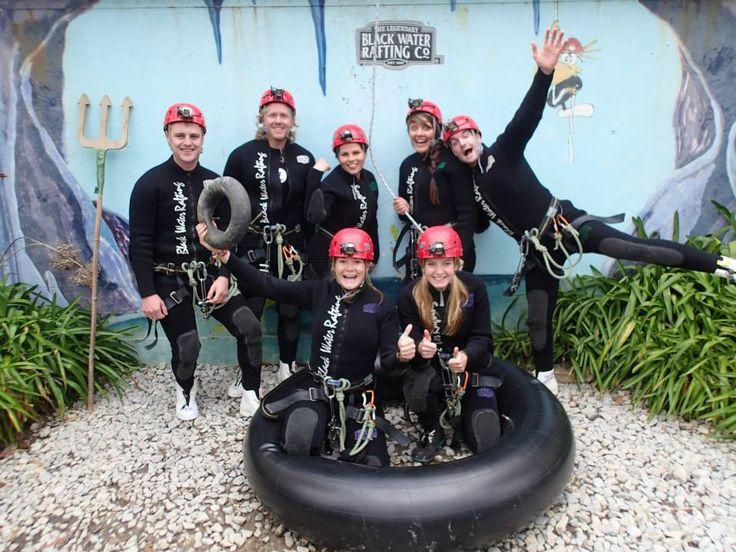Black water rafting company, Waitomo