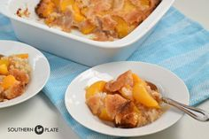 Old Fashioned Peach Cobbler – nothing like it! ~ http://www.southernplate.com
