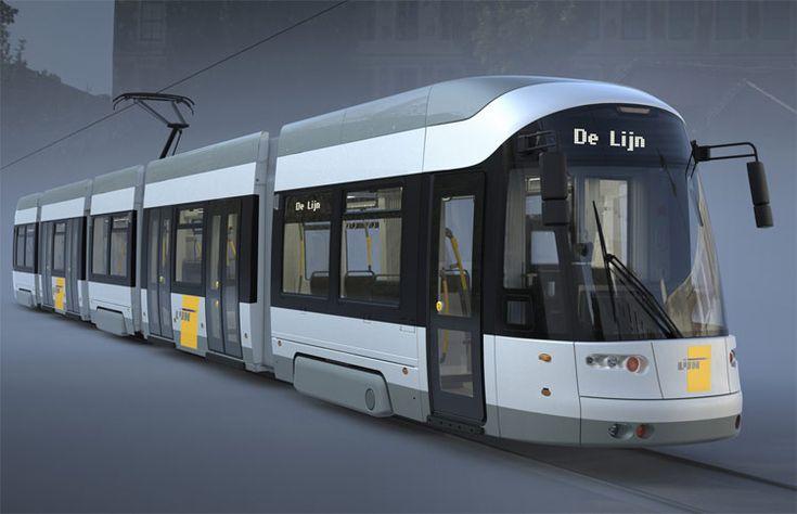 Bombardier suministrará 48 tranvías extra-largos en Bélgica. #Railway
