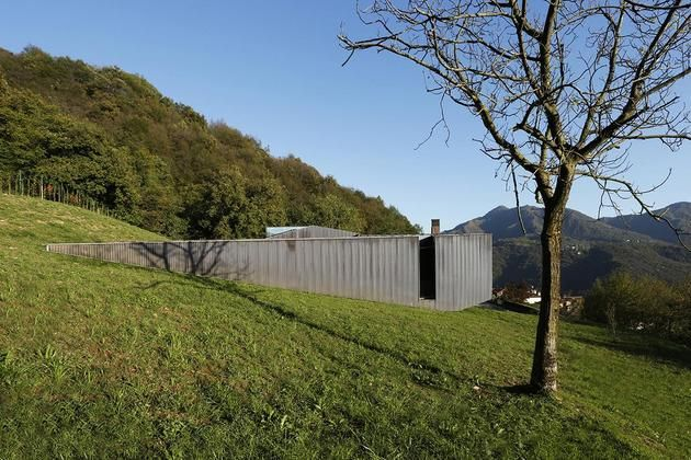 home design Alps Villa by Camilo Boticini Architects