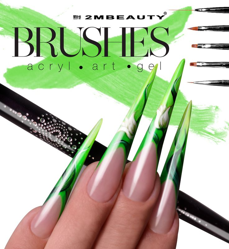 Brushes for art nails