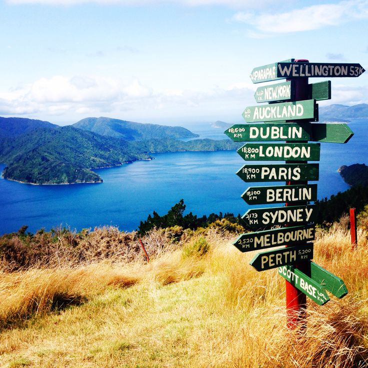 Queen Charlotte Track, Marlborough Sounds, The South Island, New Zealand