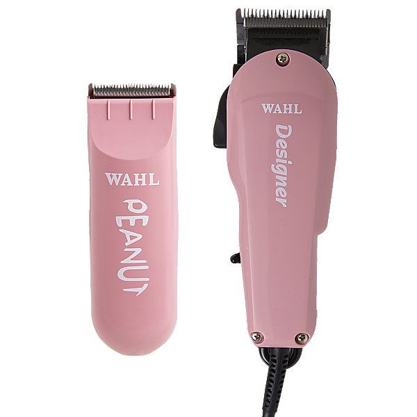 The Limited Edition Wahl All Star Combo includes the Wahl Designer Clipper and the Wahl Peanut Trimmer.