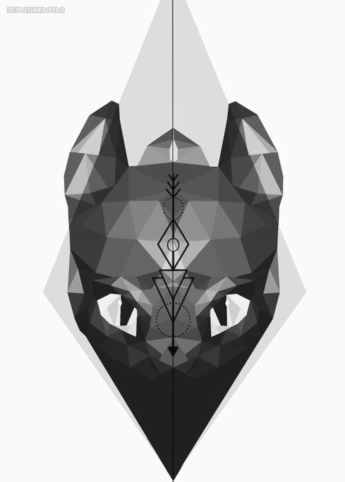 Im just in love with norse geometric designs. So I added a norse arrow to my fave viking dragonbuy on redbubble