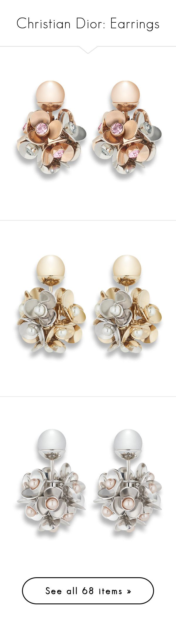 """""""Christian Dior: Earrings"""" by livnd ❤ liked on Polyvore featuring jewelry, earrings, earring jewelry, tribal jewelry, tribal earrings, tribal jewellery, clip back earrings, clip on earrings and clip earrings - Sale! Up to 75% OFF! Shot at Stylizio for women's and men's designer handbags, luxury sunglasses, watches, jewelry, purses, wallets, clothes, underwear"""