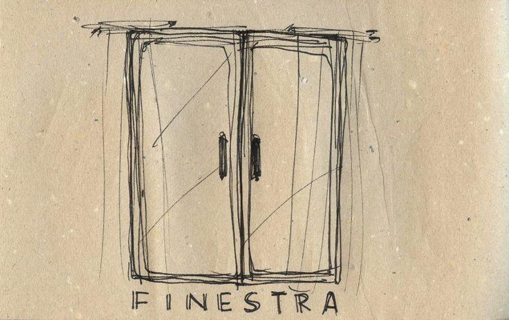 Learning Italian Language ~ Finestra (window) IFHN
