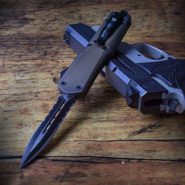 Staff Favorite - Titan Bravo Tactical OTF Knife (Custom