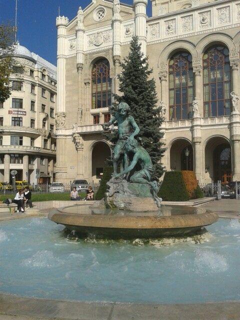 Vigadó-tér Szökőkut Budapest