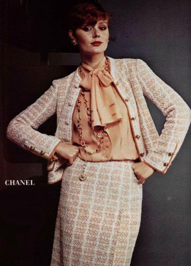 1978 chanel chanel fashion house1920 1985 pinterest. Black Bedroom Furniture Sets. Home Design Ideas