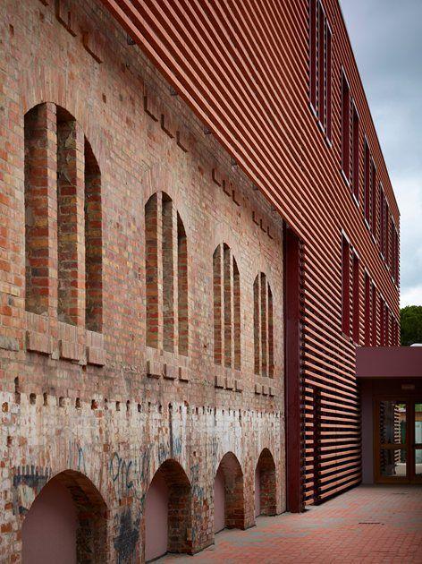Recupero della exFornace di Riccione, Riccione, Pietro Carlo Pellegrini Architetto #restoration #bricks #industrialheritage