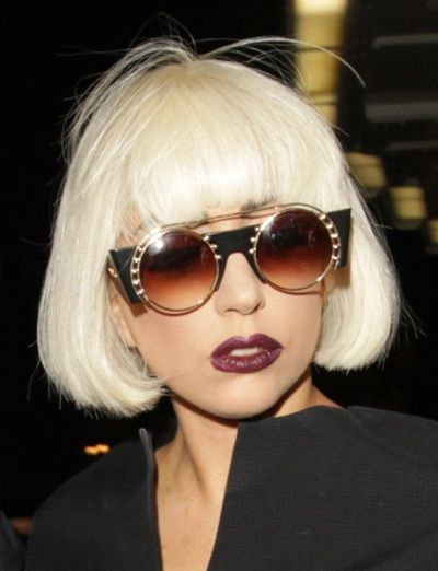 Cropped and almost white,Lady Gaga hairstyles