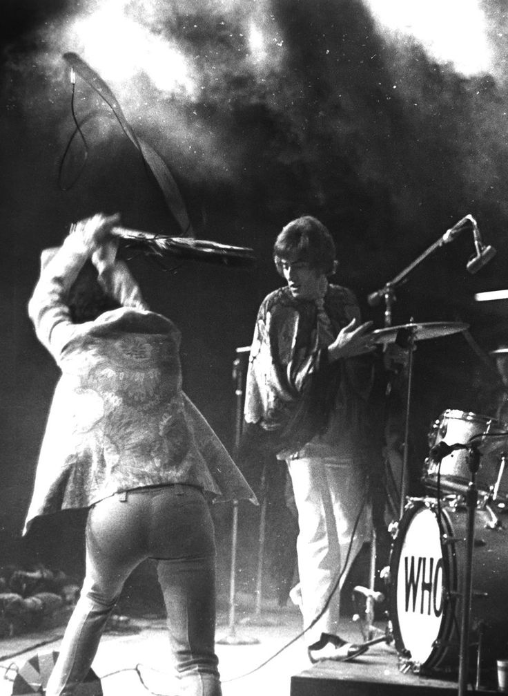 """""""The Who live at Monterey Pop Festival, 1967. Photo by Henry Diltz. """""""